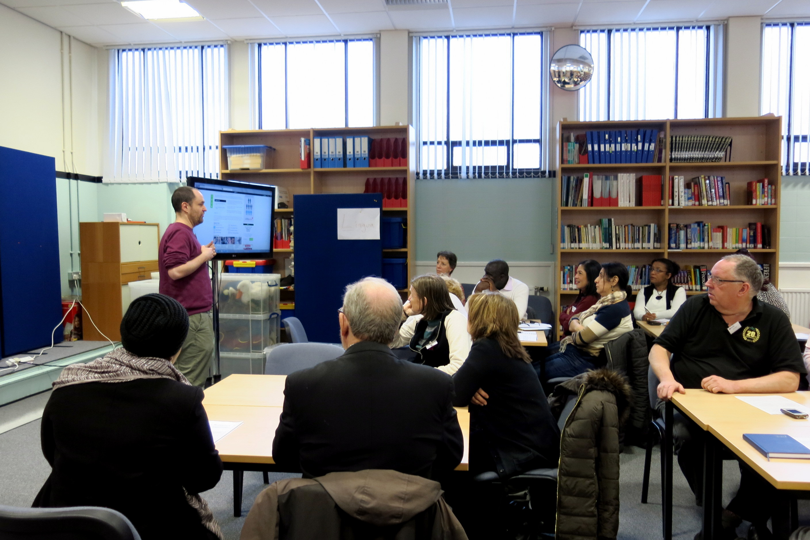 A presentation from the Bridging Materials Workshops